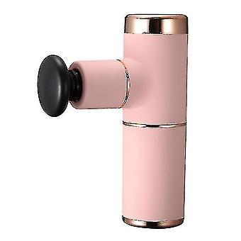 Massagers pink household exercise fitness deep muscle massage gun az5215