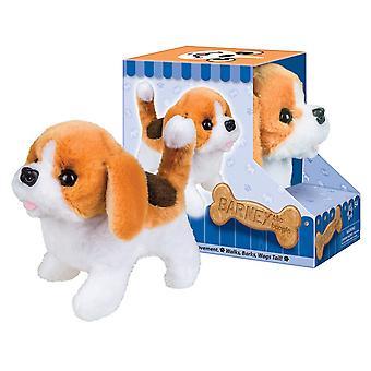 Battery Operated Plush Barney the Beagle