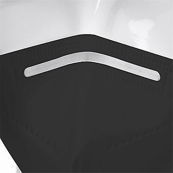 5-lagers mask med hög densitet Pm2.5 Vind- och dimföroreningsskyddsfilter
