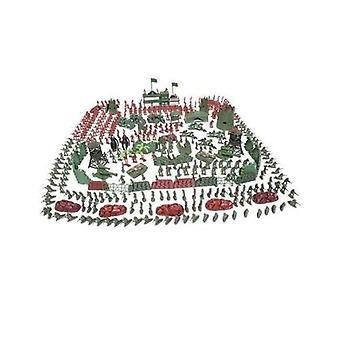 500 Stück Kleiner Soldatenpanzer Sand Armee Modell Kinderspielzeug