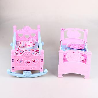 Children Girls Play House Toy Bed Princess Doll Toys Shaker Hammock Simulation