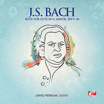 J.s. Bach - j.s. Bach: Suite für Laute in G-Moll Bwv 995 USA import