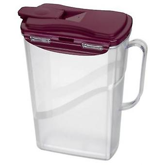 Jarra de cristal 2 litros ideal para casa de fiestas bebidas utensilios de cocina