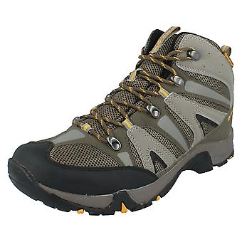 Mens Hi-Tec Casual Waterproof Lace Up Hiking Boots Condor