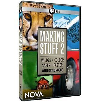 Nova - Nova: Making Stuff 2 [DVD] USA import