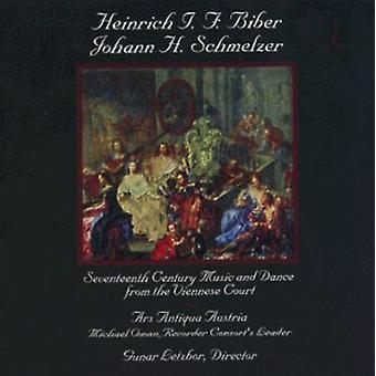 Biber/Schmelzer - Heinrich I. F. Biber; Johann H. Schmelzer: 17th Century Music & Dance From the Viennese Court [CD] USA import