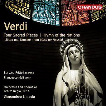 G. Verdi - Verdi: Fyra heliga stycken; Psalmen av nationerna [CD] USA import