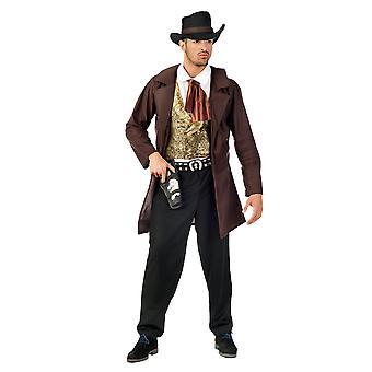 Västra pojke cowboy Sheriff koherde mäns kostym i vilda västern