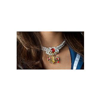 Jewelry and crowns  Sailor necklace with anchor