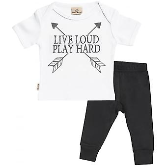 Gâté pourri direct fort bébé T-Shirt & bébé Jersey pantalon costume Set