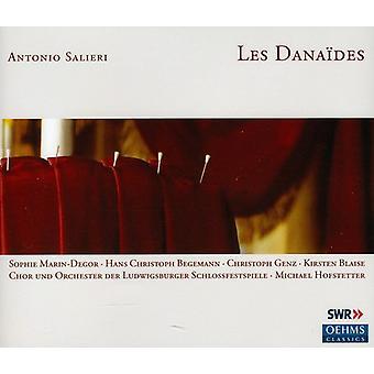 A. Salieri - Antonio Salieri: Les Dana Des [CD] USA import