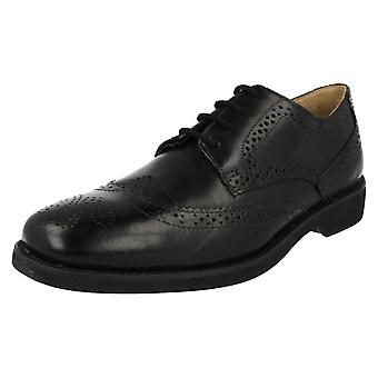 Mens Anatomic Smart Brogue Detailed Shoes Tucano