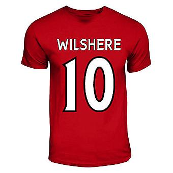 Jack Wilshere Arsenal-Held-T-Shirt (rot)