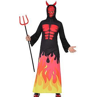 Herren Kostüme Teufel Dämon dunkel