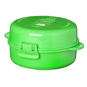 Sistema Microwave Easy Eggs To Go, Lime Green