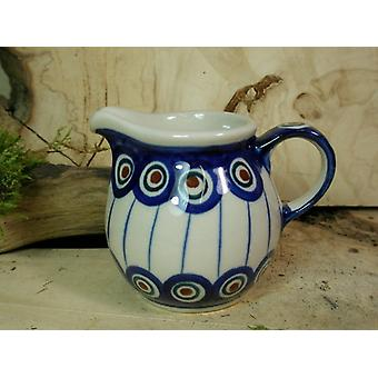 2nd choice, 120 ml, milk jug, traditional 13 - boleslawiec aardewerk - BSN 21990