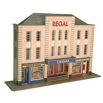 Metcalfe Po206 Oo Gauge Card Kit - Low Relief Cinema & Shops
