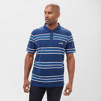New Peter Storm Men's Short Sleeve Casual Striped Polo Shirt Navy (en anglais)