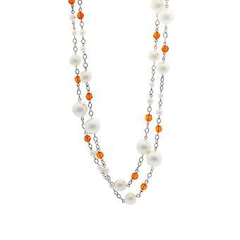 Misaki ladies necklace silver HENNA QCRNHENNA