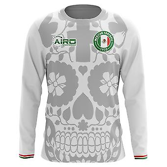 2020-2021 Mexico Long Sleeve Away Concept Football Shirt (Kids)