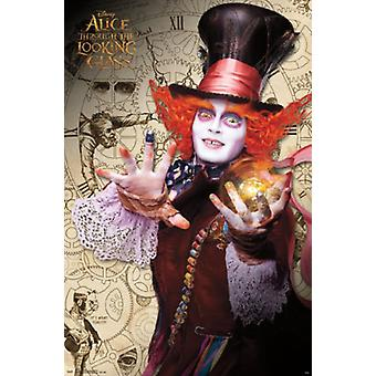 Alice in Wonderland 2 Through the Looking Glass - Mad Hatter Poster