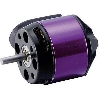 Model aircraft brushless motor A20-22 L EVO Hacker kV (RPM per volt): 924 Turns: 22