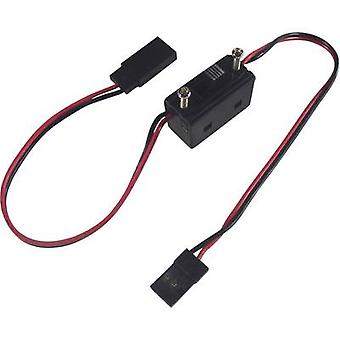 Modelcraft standard on/off switch sele [1x JR plug-1x JR socket] 0,14 mm ²