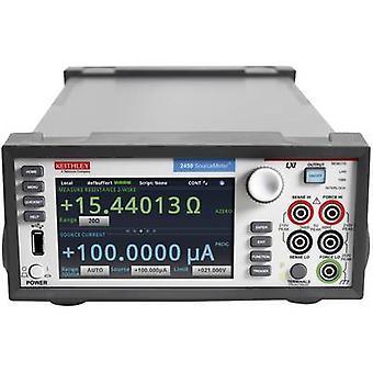 Keithley 2450 SourceMeter مقاعد البدلاء PSU (قابل للتعديل الجهد) -200 - 200 V DC 0.1 - 1 A 20 W GPIB، USB، LAN، LXI للبرمجة رقم. من النواتج 1 ×