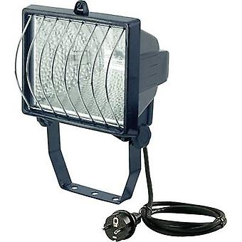 Brennenstuhl Outdoor floodlight HV halogen 500 W R7s Black