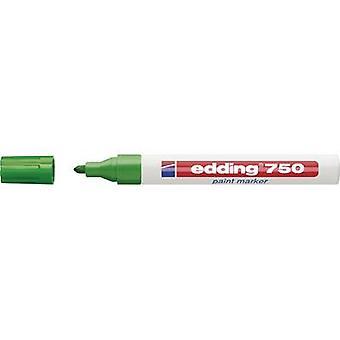 Edding 4-750004 تحرير 750 علامة الطلاء علامة الطلاء الأخضر 2 ملم، 4 ملم 1 أجهزة الكمبيوتر / حزمة