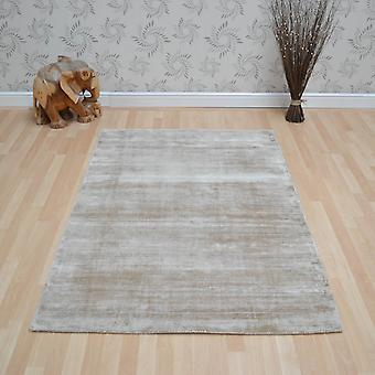 Blade Plain Rugs In Soft Gold