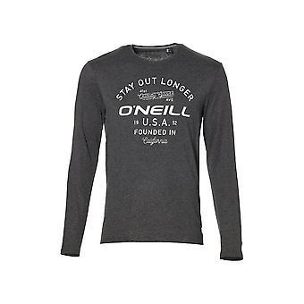 O'Neill LM jäädä pois enää pitkähihainen t-paita, tumma harmaa Melee