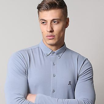 Life and Limb Long Sleeve Stretch Jersey Muscle Fit Mens Shirt