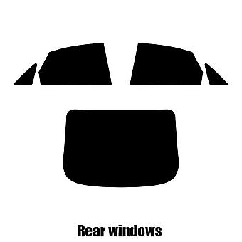 Pre cut window tint - Ford Mondeo 4-door Saloon - 2007 to 2015 - Rear windows