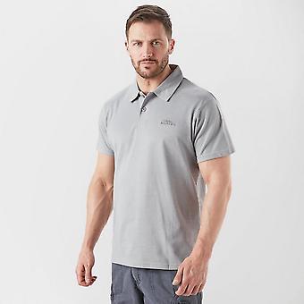New Weird Fish Men's Short Sleeve Collar Neck Andy Polo T-Shirt Brown
