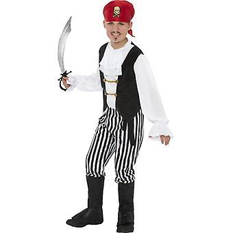 Costume da pirata, piccoli ragazzi età 3-5