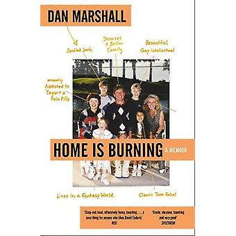 Home is Burning by Dan Marshall - 9781473624313 Book
