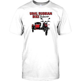 Moto rusa Ural con Sidecar para hombre camiseta