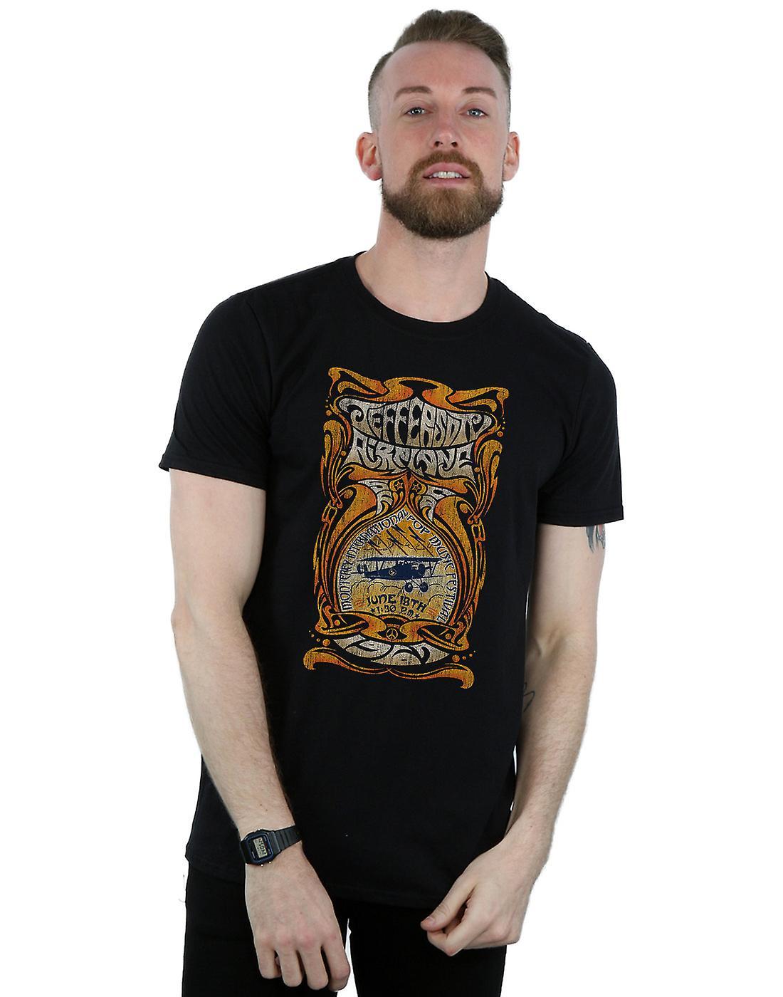 Jefferson Airplane Men's Monterey Festival T-Shirt