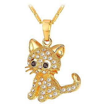 U7 Cat Collana D'Oro