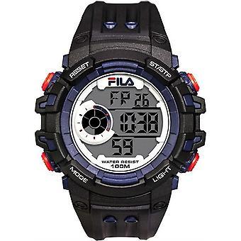 Fila mężczyzn zegarek zegarek cyfrowy sport 38-188-003 Silikonowe