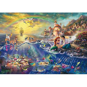 Schmidt Kinkade: Disney The Little Mermaid puslespill (1000 stykker)