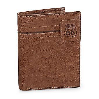 Portefeuille en cuir véritable Route 66 9 compartiments R40221