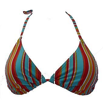 Sloggi Sls Capri Cto Blue Stripe Tie terug Bikinitop