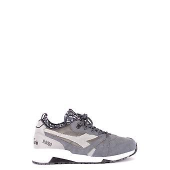 Schutz Ezbc116032 Men's Grey Suede Sneakers