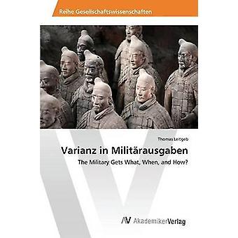 Varianz in Militrausgaben door Leitgeb Thomas