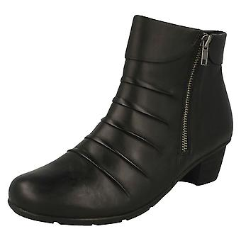 Ladies Remonte Fleece Lined Ankle Boots R7571