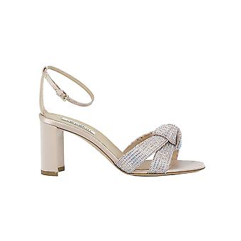 Ninalilou 291079ba2 Women's Silver Leather Sandals