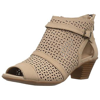 Easy Street Womens Carrigan Peep Toe Ankle Fashion Boots