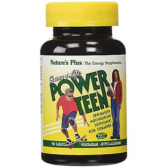 Natures Plus Fuente de Vida Power Adolescente - Multivitamina 90's